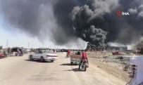 BORU HATTI - Irak'ta Petrol Boru Hattında Yangın Çıktı