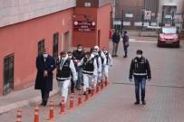 MERMİ - Kayseri'de Silahlı Suç Örgütüne Operasyonda Gözaltına Alınan 8 Kişi Adliyeye Sevk Edildi