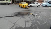 KIRMIZI IŞIK - Kırmızı Işıkta Geçen Taksi Faciaya Neden Olacaktı