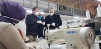 GÜNDOĞDU - Kocaeli'de Belediye Üretimhaneleri Günlük 17 Bin Maske Üretiyor