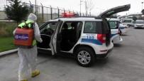 ÖZLEM ÇERÇIOĞLU - Nazilli İlçe Emniyet Müdürlüğü Binası Dezenfekte Edildi