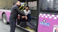 KIRMIZI IŞIK - (Özel) Kırmızı Işıkta Geçen Taksi Faciaya Neden Olacaktı