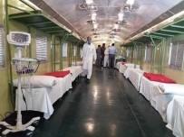 PAKISTAN - Pakistan Trenleri Karantina Merkezlerine Çeviriyor