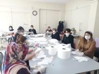 HALK EĞİTİM - Silvan'da Sağlık Çalışanları İçin Maske Üretiliyor