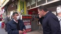 SİVAS VALİSİ - Sokağa Çıkması Yasaktı, Valiye Yakalandı