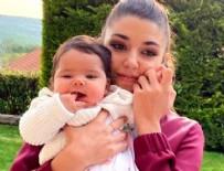 HANDE ERÇEL - Ünlü oyuncu Hande Erçel, yeğeni Aylin Mavi ile pozlarını paylaştı