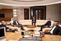 YÜKSEKÖĞRETIM KURULU - AK Parti Heyeti, NEVÜ Rektörü Aktekin'e Ziyaret