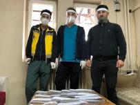 HALK EĞİTİM MERKEZİ - Beytüşşebap'ta Sağlık Çalışanları İçin Yüz Koruyucu Siper Üretiliyor