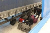 TUVALET KAĞIDI - Hamzabeyli'de 24 Milyon 650 Bin Adet Makaron İle 44 Kilogram Esrar Ele Geçirildi