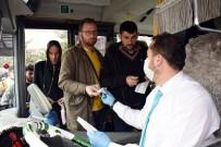 UĞUR İBRAHIM ALTAY - Konya Büyükşehir Toplu Ulaşımı Kullanan Yolculara Maske Dağıttı