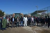 HALK EĞİTİM MERKEZİ - Kozanlı Çiftçiler, İlçeyi Traktörleri İle Dezenfekte Etti