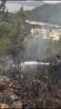 YANGINA MÜDAHALE - Marmaris'te Makilik Alanda Yangın Çıktı