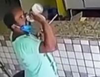YAŞAM MÜCADELESİ - Ölüm korkusu yüzünden dezenfektanı kafaya dikti