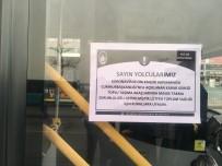 OTOBÜS ŞOFÖRÜ - Otobüslere Maskesiz Binenlere Maske Dağıtıldı