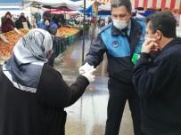 PAZARCI - Körfez'de Vatandaşlara 5 Bin Maske Dağıtıldı