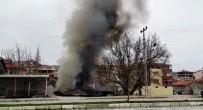 ERKENEK - Malatya'da Ev Yangını Maddi Hasara Yol Açtı