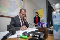 SAHRA HASTANESİ - Mersin Büyükşehir Belediyesi Sağlık Çalışanlarına Siper Oldu