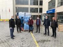 İÇME SUYU - Sağlık Çalışanlarına 17 Bin 461 Adet İçme Suyu Teslim Edildi