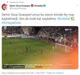 SIVASSPOR - Sivasspor'dan Anlamlı Paylaşım