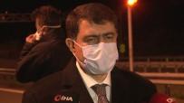 SEYAHAT YASAĞI - Ankara Valisi Şahin, Akıncı Gişelerinde Korona Önlemlerini Denetledi