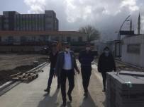 Başkan Topaloğlu Cumhuriyet Meydanındaki Çalışmaları İnceledi