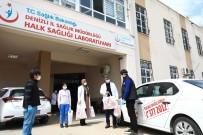BELEDIYE OTOBÜSÜ - Büyükşehir Belediyesi Aile Sağlığı Merkezlerine Koruyucu Set Dağıttı