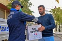 SEYYAR SATICILAR - Büyükşehir Belediyesinden Seyyar Satıcılara Gıda Desteği