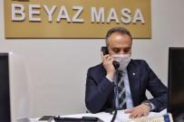 HALKLA İLIŞKILER - Çağrı Merkezinde Telefonların Başına Geçen Başkan Aktaş Açıklaması