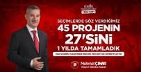 MAHALLİ İDARELER - Çınar, 45 Projeden 27'Sini Bir Yılda Yaptıklarını Bildirdi