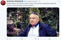 TAZİYE MESAJI - Emekli Zabıta Korona Virüsten Vefat Etti