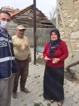 YAĞAN - Gediz'de Polis Ve Jandarma Ekipleri Kapı Kapı Yardım Dağıttı