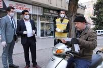 SÜLEYMANIYE - Haliliye Kendi Ürettiği Maskeleri Ücretsiz Dağıtıyor