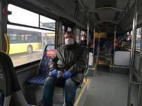 OTOBÜS ŞOFÖRÜ - İstanbullular, Toplu Taşımalarda Maske Kuralına Özen Gösteriyor
