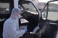 CAMİİ - Kayseri OSB, Korona Virüse Karşı Servis Araçlarını Ücretsiz Dezenfekte Ediyor
