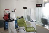 NEVŞEHİR BELEDİYESİ - Nevşehir Belediyesi Dezenfektan Çalışmalarına Devam Ediyor