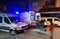 YAŞLI KADIN - Pencereden Düşen Yaşlı Kadın Hastaneye Kaldırıldı