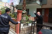 GÜNDOĞDU - Polis 75 Yaşındaki Yaşlı Adamı Maaşını Çekebilmesi İçin Bankaya Götürüp Getirdi