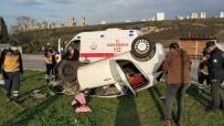 DİREKSİYON - Samsun'da Kaza Yapan Polis Ölümden Döndü