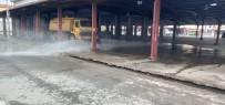 REFERANS - Semt Pazar Yerleri Dezenfekte Ediliyor
