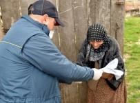 YAŞ SINIRI - Sosyal Yardımları PTT Görevlileri Evlere Dağıtılıyor