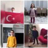 SINIF ÖĞRETMENİ - Tatvan'daki Öğrencilerden 'Evde Kal Türkiyem' Mesajı