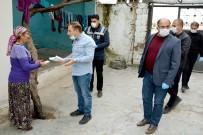 TURGUT ÖZAL - Yaşlıların Maaşını Kaymakam Bizzat Evlerine Götürdü