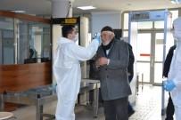 ÇAY OCAĞI - Aksaray'da Adliye Ve Cezaevinde Korona Virüs Tedbirleri Üst Seviyede