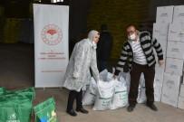 MıSıR - Aksaray'da Çiftçilere Kuru Fasulye Ve Mısır Tohumu Dağıtıldı