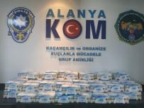 Alanya'da 4 Bin Adet Sahte Maske Ele Geçirildi