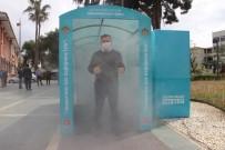 BELEDİYE BAŞKAN YARDIMCISI - Alanya'da Korona Virüse Karşı Dezenfeksiyon Tüneli Kuruldu
