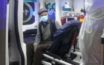 YAŞLI ADAM - Ateşi yüksek çıkan hastayı polisten kaçırmaya çalıştı