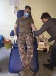 HAREKAT POLİSİ - Cizre Polisi Anemi Hastası Kadın İçin Seferber Oldu
