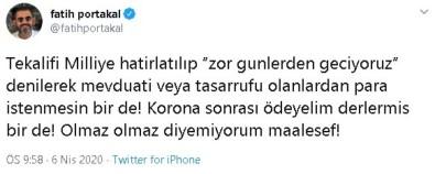 Fatih Portakal'a Suç Duyurusu