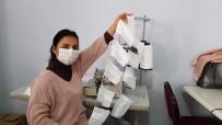SİVİL TOPLUM - Finike Halk Eğitim Merkezinden Maske Üretimi